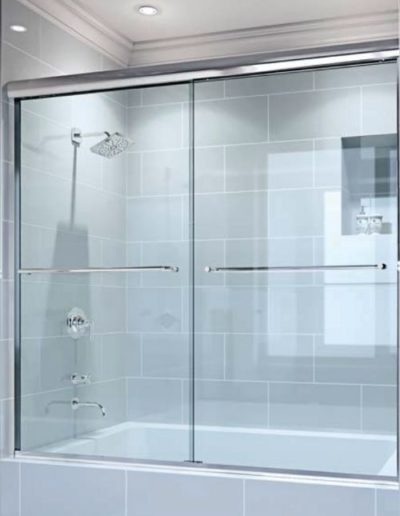 Frameless Glass Sliding Shower Door