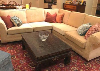Custom Upholstered Sectional Sofa