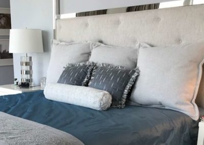 Custom Bedding w/Throw Pillows
