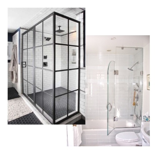 Glass Shower and Tub Enclosure